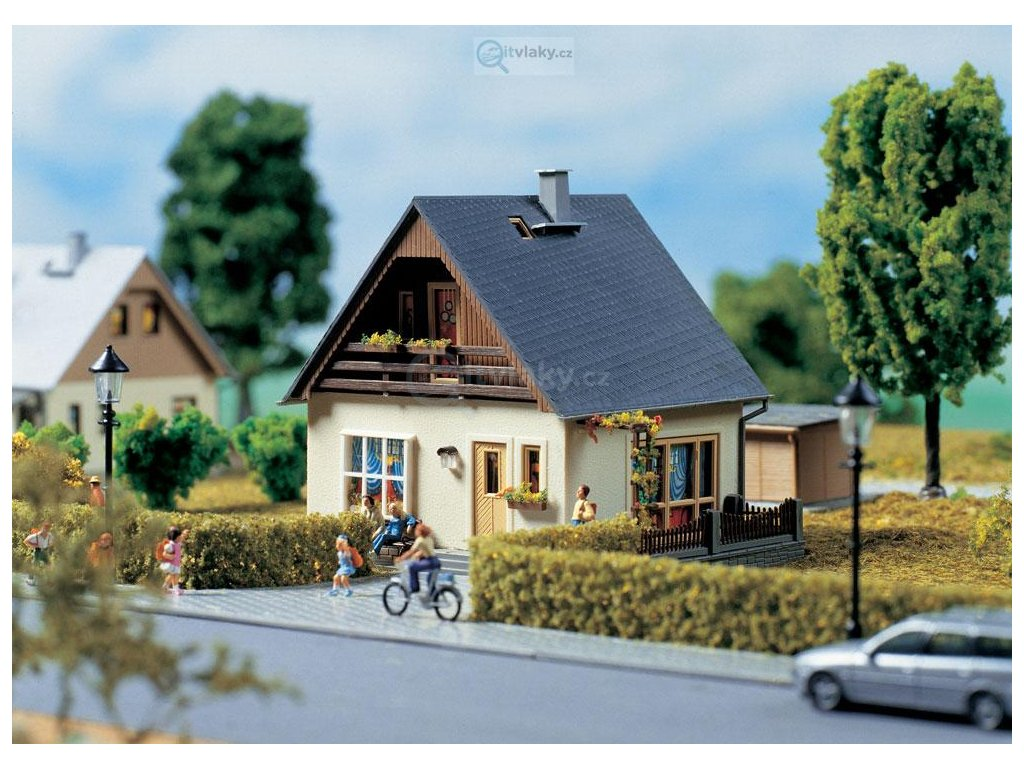 H0 - Dům Gabi, stavebnice / Auhagen 11378