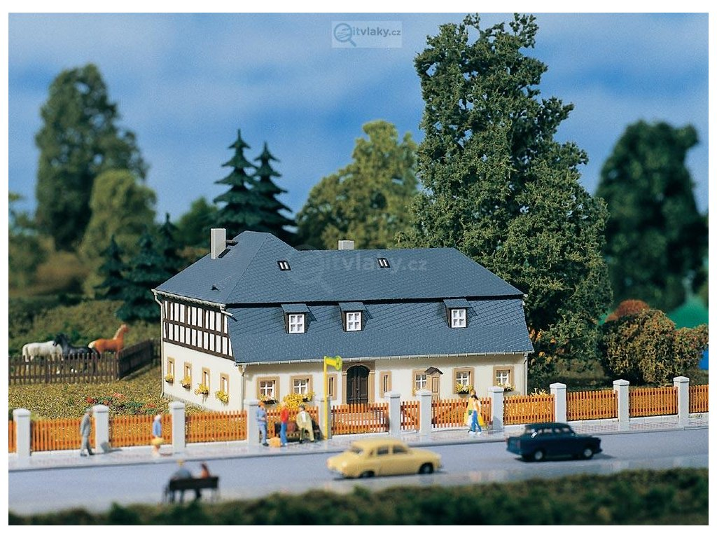 H0 - Obytný dům Mühlenweg 1 /  Auhagen 11385