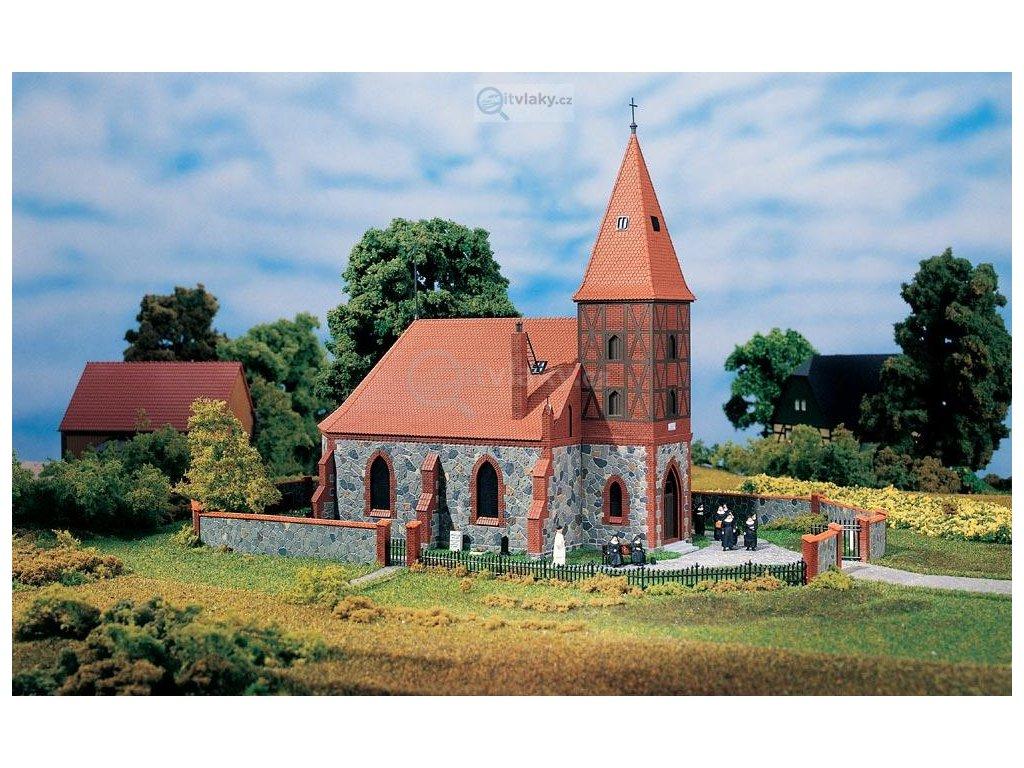 H0 - Kostel, stavebnice / Auhagen 11405