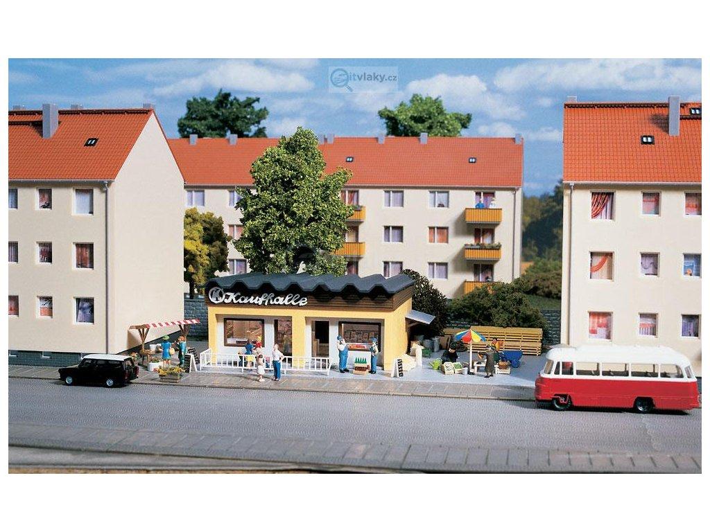 H0 - Prodejna / Auhagen 11406
