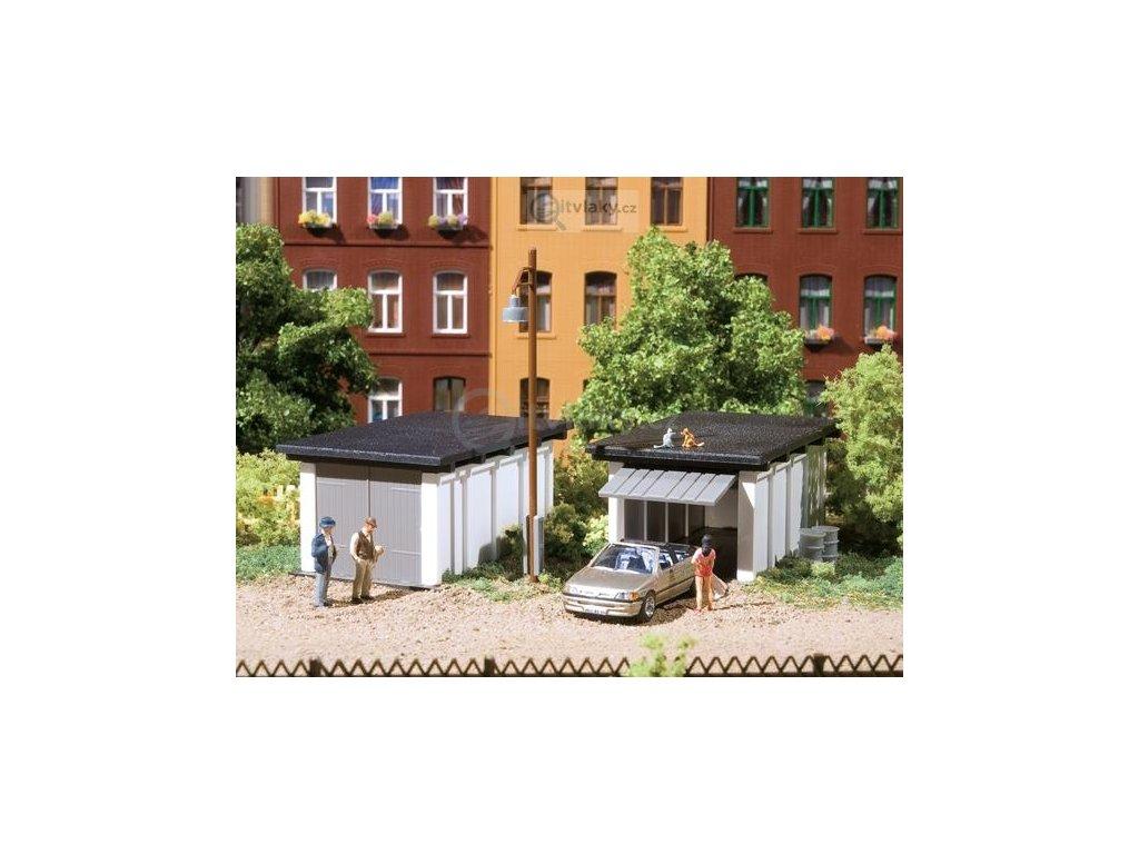 H0 - Garáže, stavebnice / Auhagen 11420