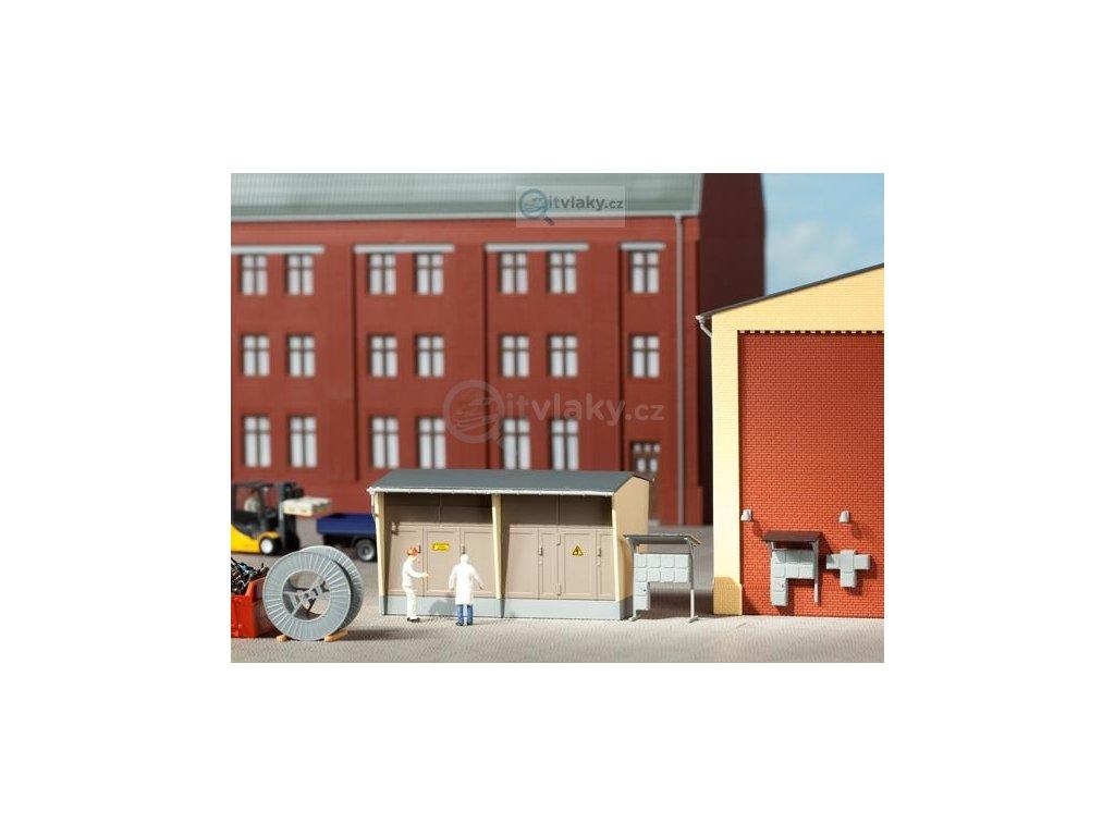H0 - Trafostanice, stavebnice / Auhagen 11427