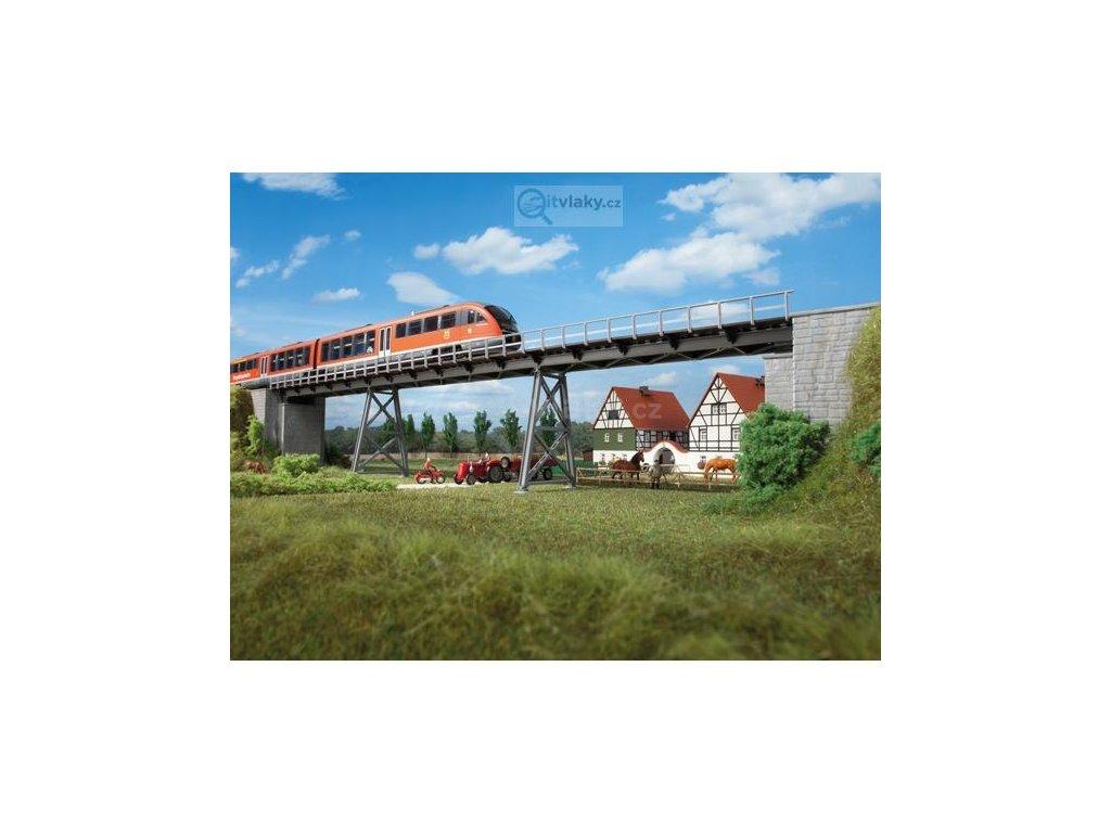 H0/TT - Most na kyvných pilířích / Auhagen 11430