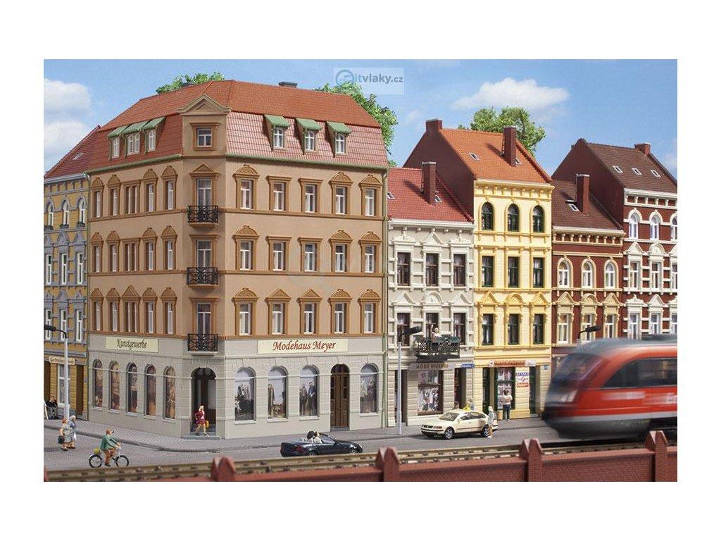 H0 - Městský rohový dům Schmidtstraße 10 / Auhagen 11447