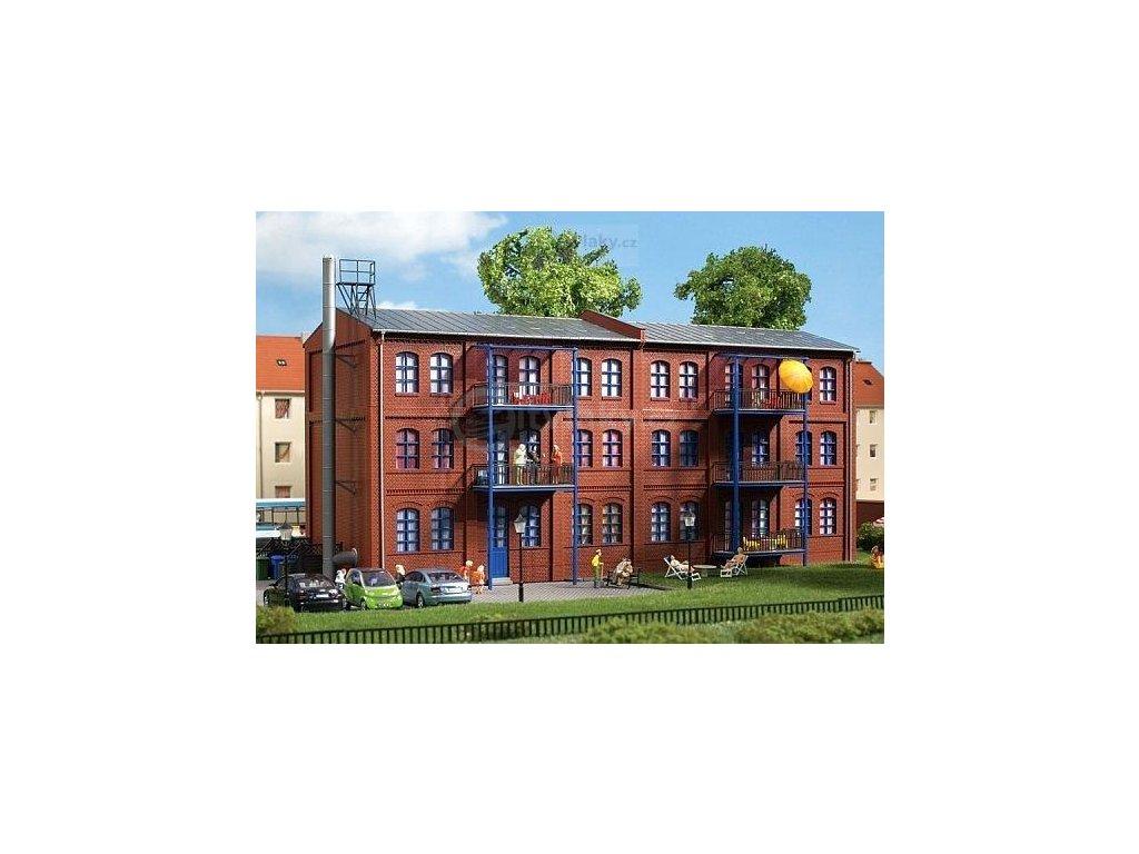 H0 - Městský dům August-Hagenstraße 1 / Auhagen 11450