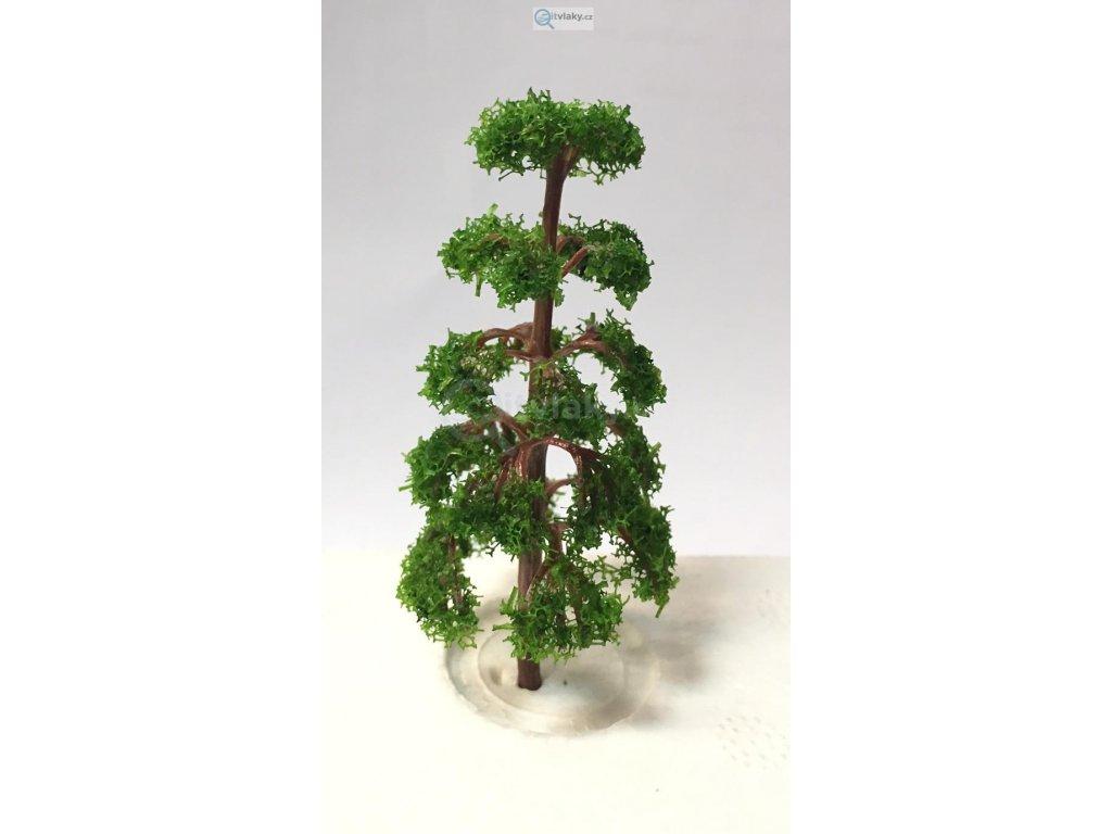 Listnatý tmavě zelený strom, 1ks / 11501s