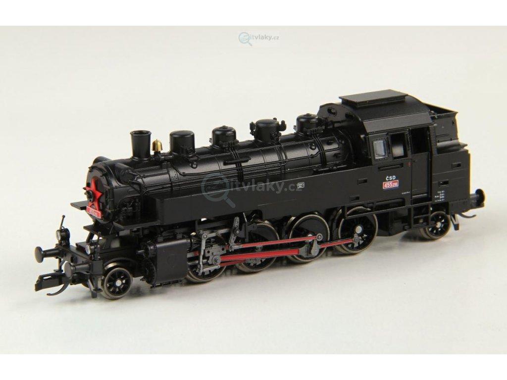 ARCHIV TT - parní lokomotiva řady 455.2, ČSD / Tillig 02180