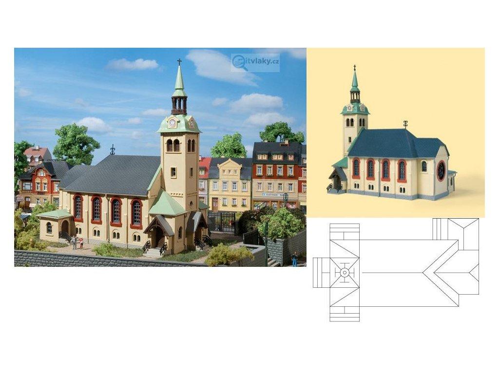 H0/TT - Kostel Börnichen / Auhagen 12229