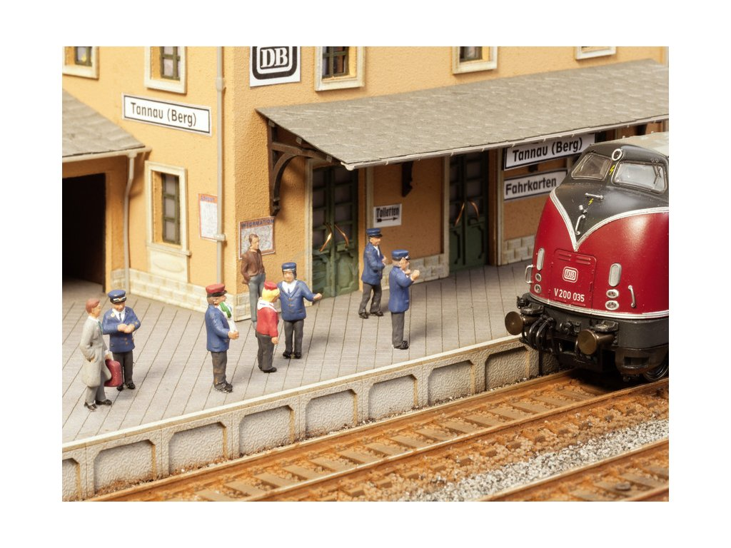 TT - Figurky se zvukovým modulem - Na nádraží / Noch 12900