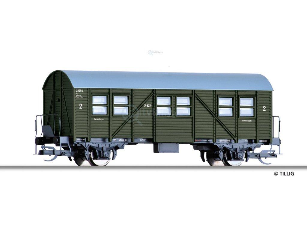 TT - Služební vůz Bti, PKP / Tillig 13296