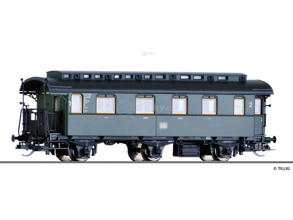 TT - osobní vůz 2. třídy DB / Tillig 16036