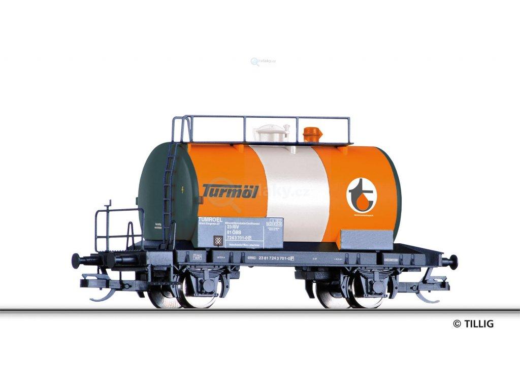 "TT - cisternový vůz ""Turmöl"", ÖBB / Tillig 17311"