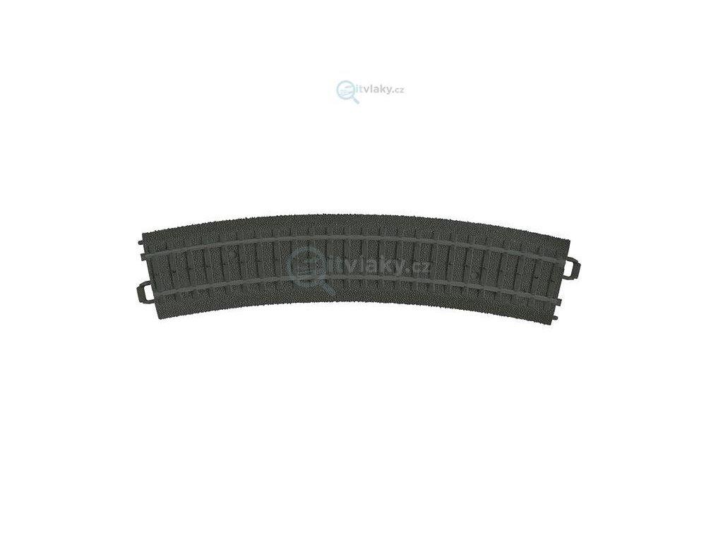 H0 - 6 ks plastové obloukové koleje R1 = 360 mm, 30°/ MARKLIN 23130