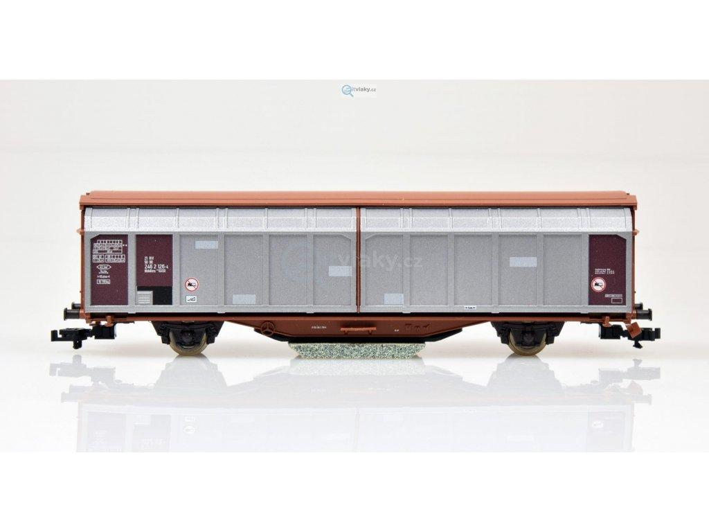 TT - čisticí vůz s bočnicemi, DR / ROCO 37559