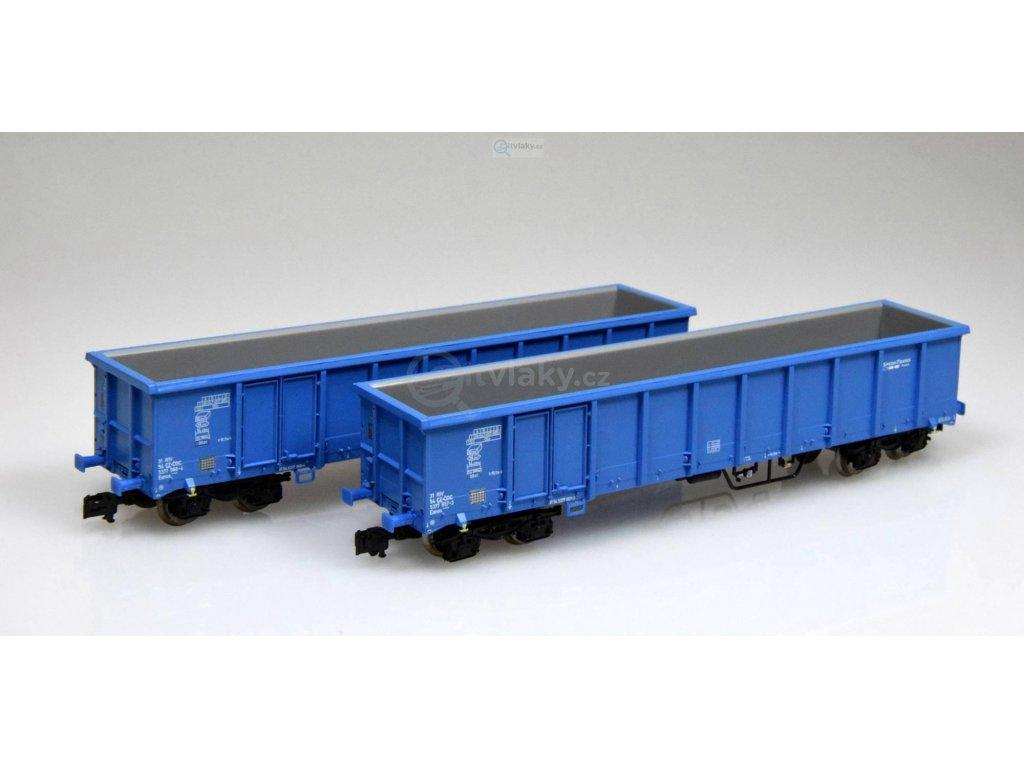 354127 tt set dvou otevrenych vozu eanos cd cargo roco 37644