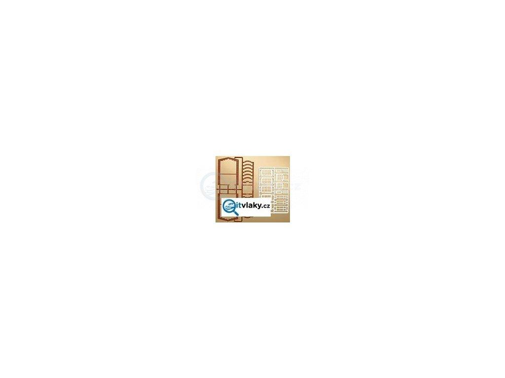 H0 - Nadokenní oblouky a okna / Auhagen 41615