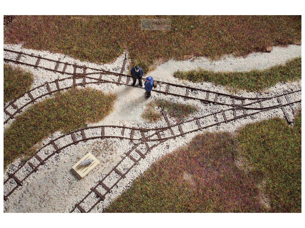 H0f - Atrapy kolejnice polní dráhy / Auhagen 41701