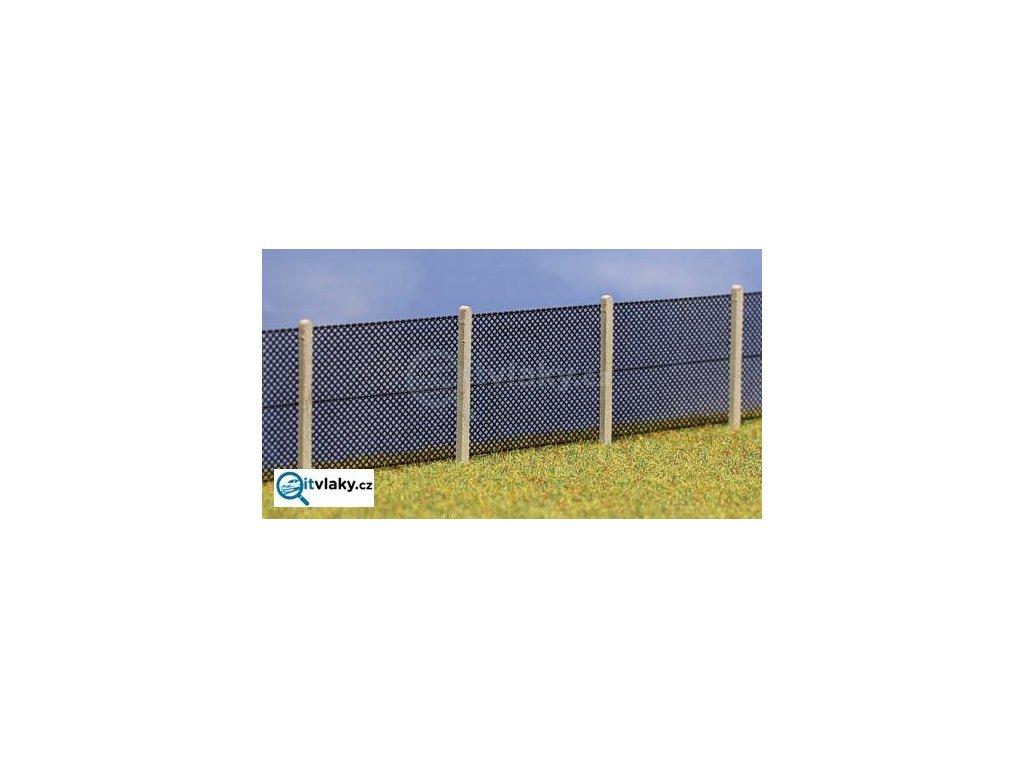 H0 - Drátěný plot s plotovými sloupky- typ B 435205