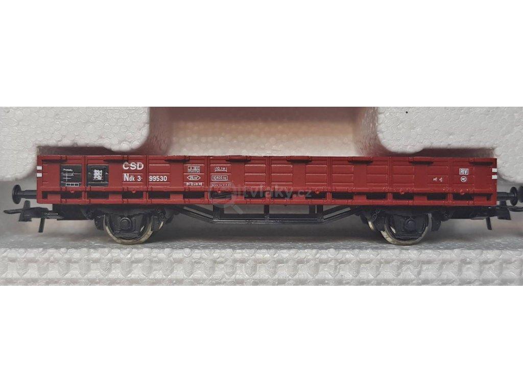H0 - set 8 ks nákladních vozů ČSD / ROCO 44001