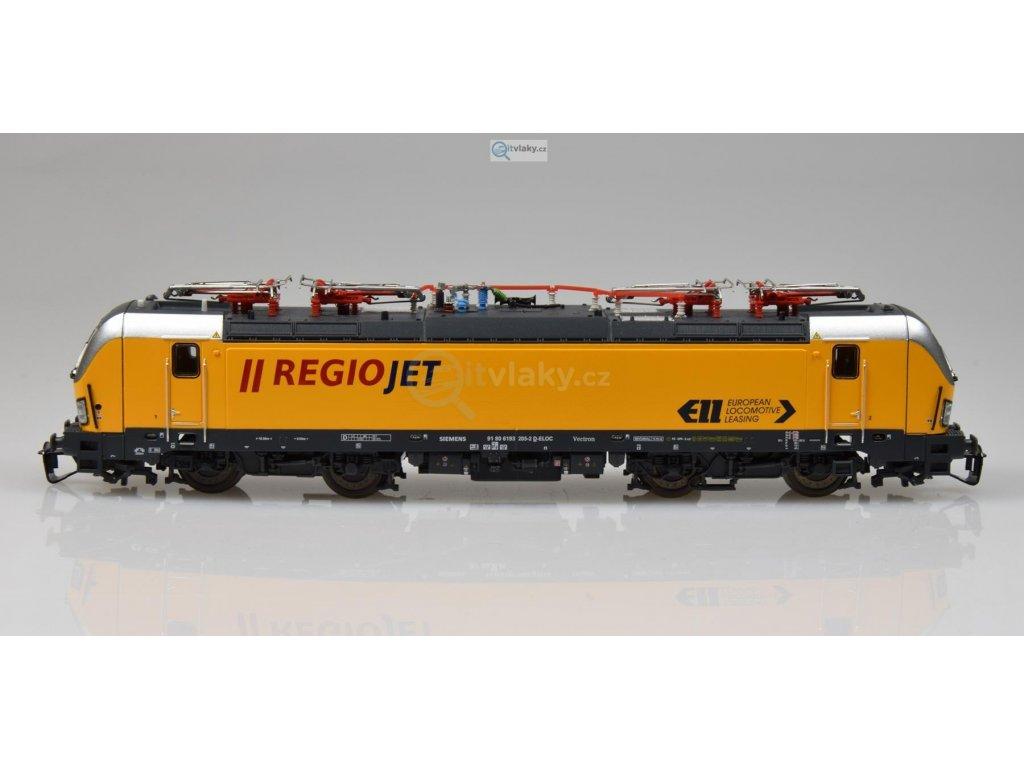 TT - el. lokomotiva Vectron 193 RegioJet CZ / PIKO 47382