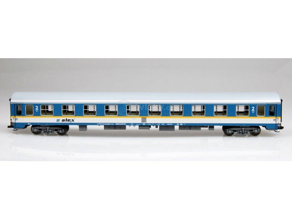 """TT - rychlíkový vůz 2. třídy Bomz """"alex""""  RBG  / Tillig 501635"""