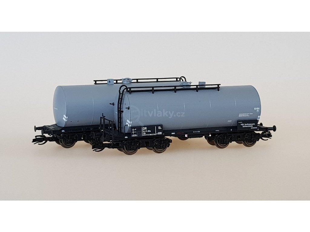 TT - set dvou cisternových vozů Uerdinger, šedé, Ep. IV/ KUEHN 51512