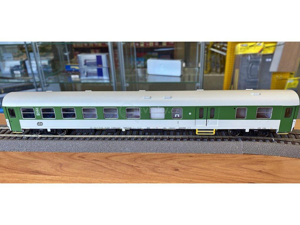 H0 - osobní vůz 2. třídy Z se zavazadlovým prostorem ČD / A.C.M.E. 52932