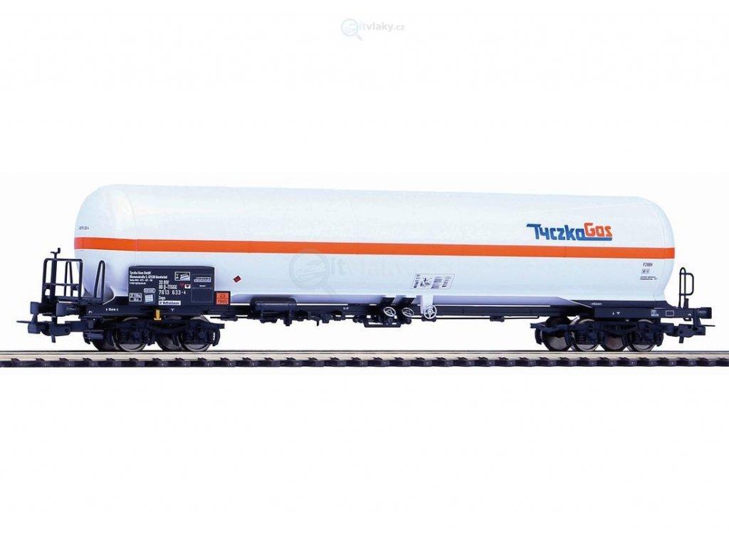 H0 - Cisternový vůz na přepravu plynu Zags Tyczka GmbH / PIKO 54667