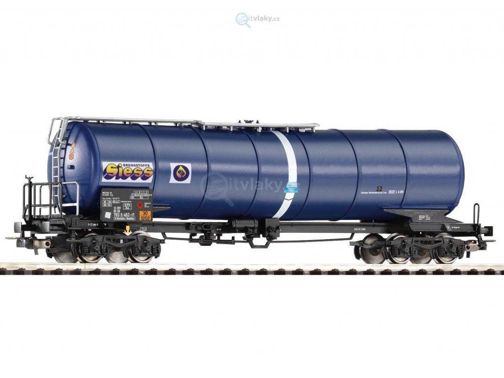 """H0 - cisterna se zkoseným kotlem """"siess"""" DB AG  / PIKO 54919"""