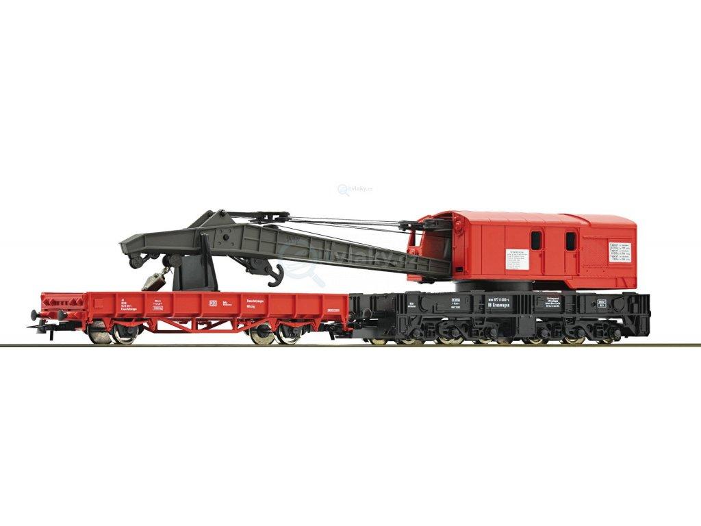 H0 - železniční jeřáb DB / Roco 56240