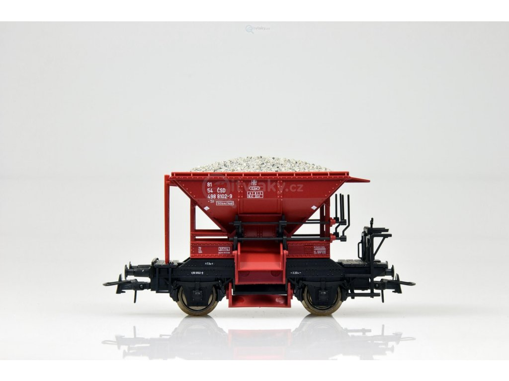 H0 - Vůz na štěrk Talbot ČSD - nové číslo / Roco 56250