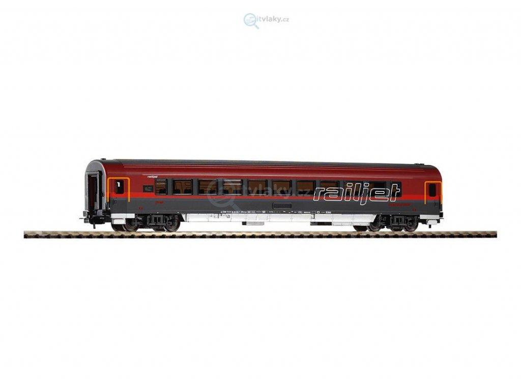 "H0 - Jídelní vůz ""Railjet"", OBB / PIKO 57644"