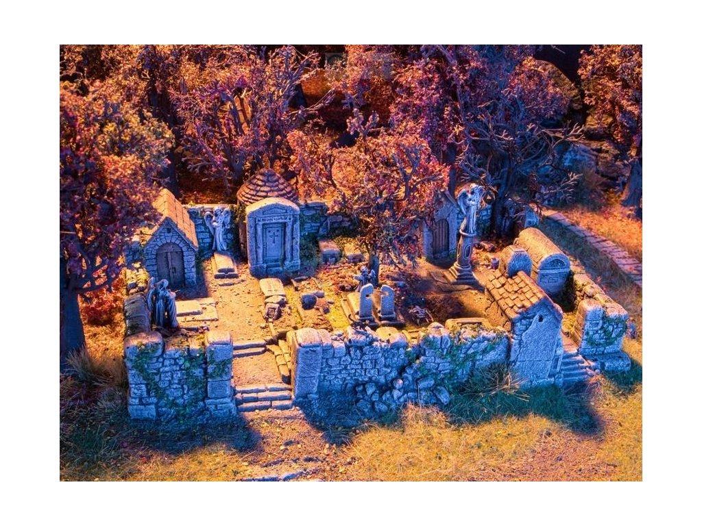 H0 - Strašidelný hřbitov / NOCH 58585