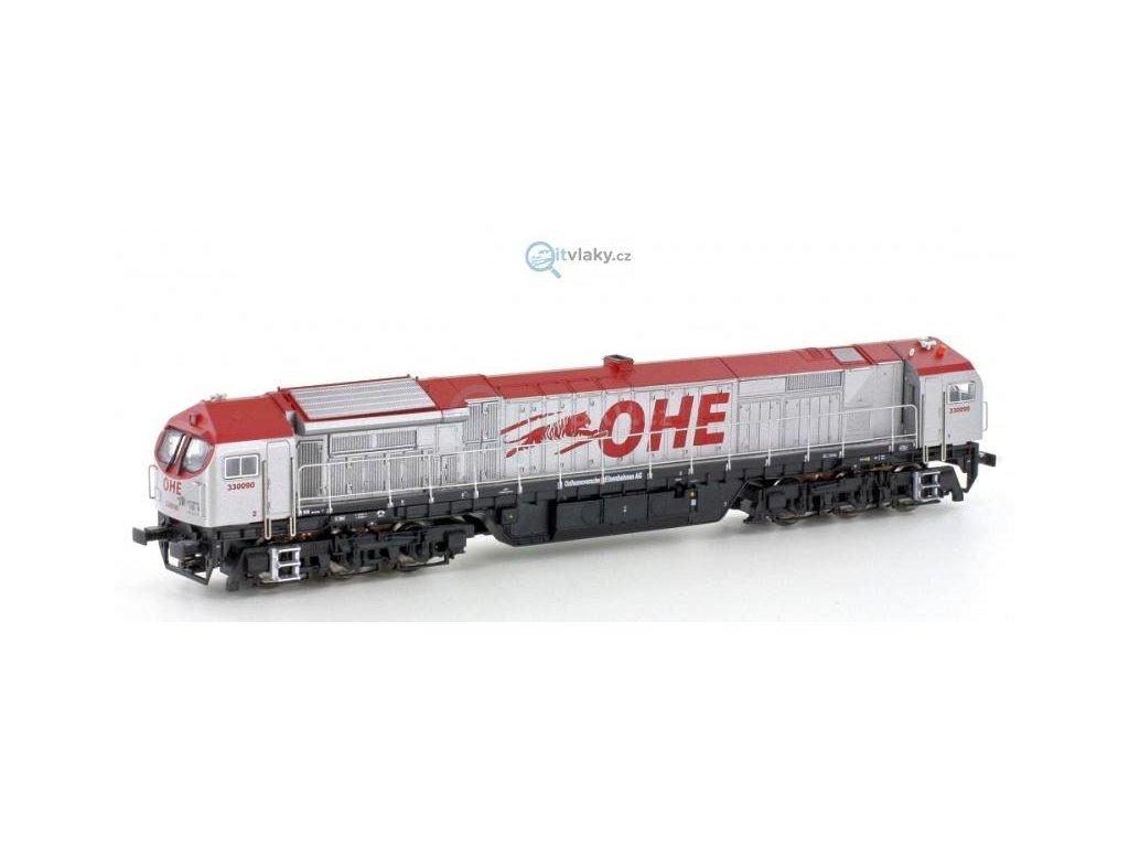 AKCE! TT - Dieselová lokomotiva Blue Tiger, OHE / Mehano 58853