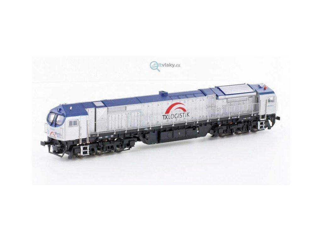 TT - Dieselová lokomotiva Blue Tiger, TXL / Mehano 58854