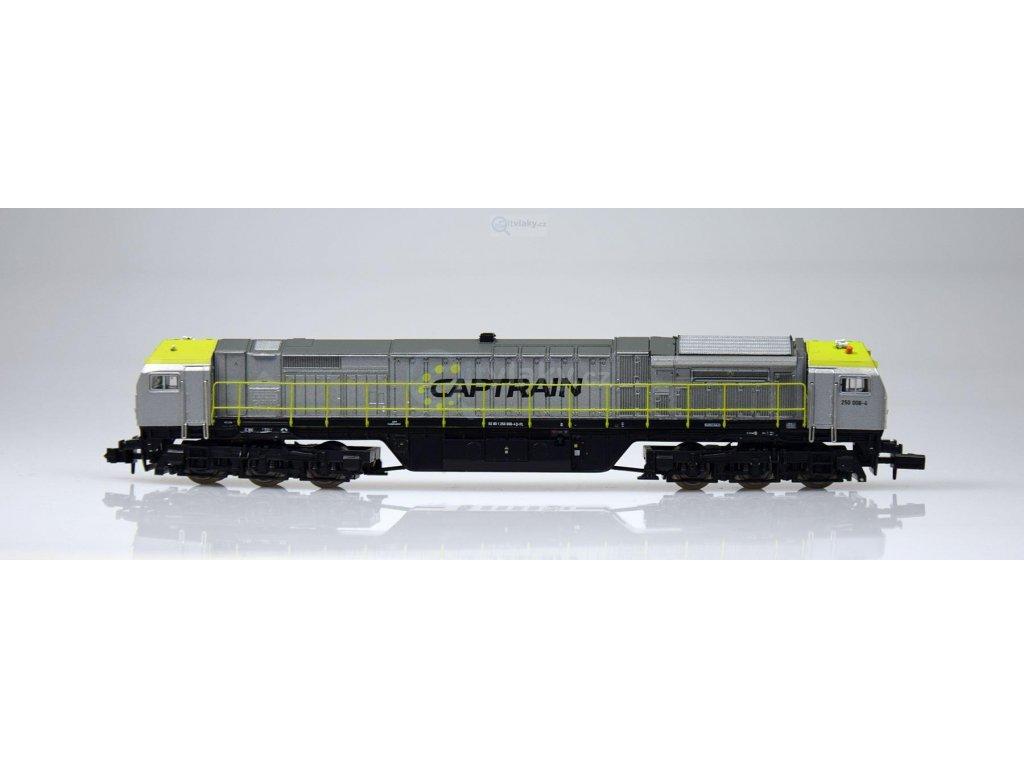 N - Dieselová lokomotiva Blue Tiger, Captrain / Mehano 58856