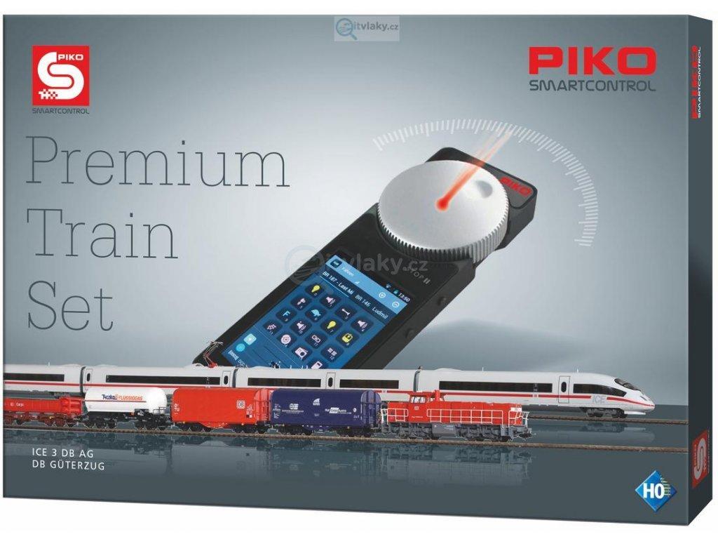 H0 - DCC/ZVUK PIKO SmartControl® Premium Train, 2 vlaky / PIKO 59114