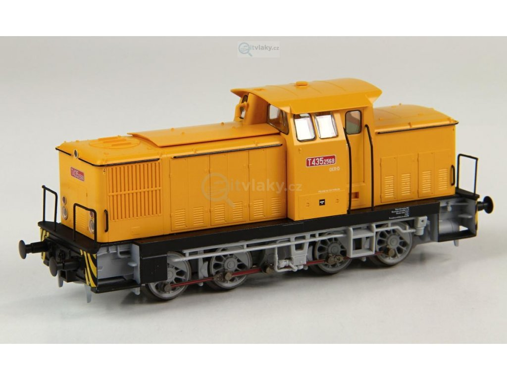H0 - Dieselová lokomotiva ČD T435.2568 - BR106 / Piko 59427