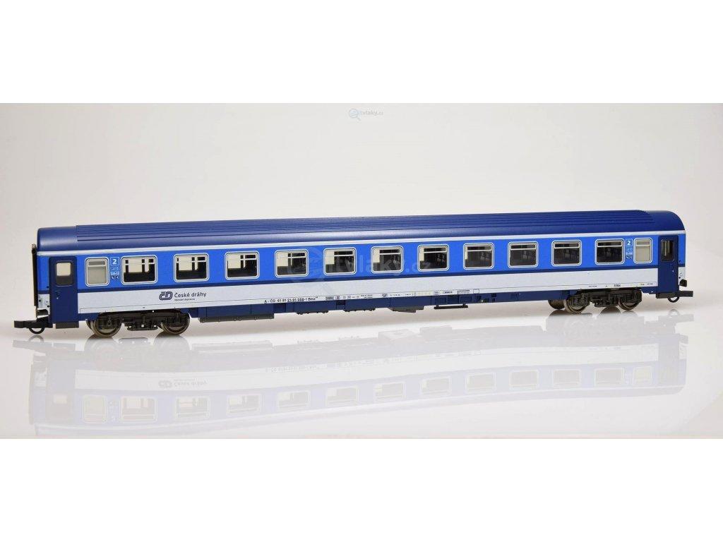 H0 - osobní vůz Bmz 2. tř. ČD Najbrt, nové číslo 022-7 / ROCO 64644