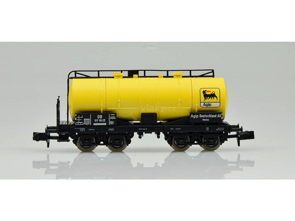 """AKCE! N - cisternový vůz """"AGIP"""", 4-osý / Brawa 67065"""