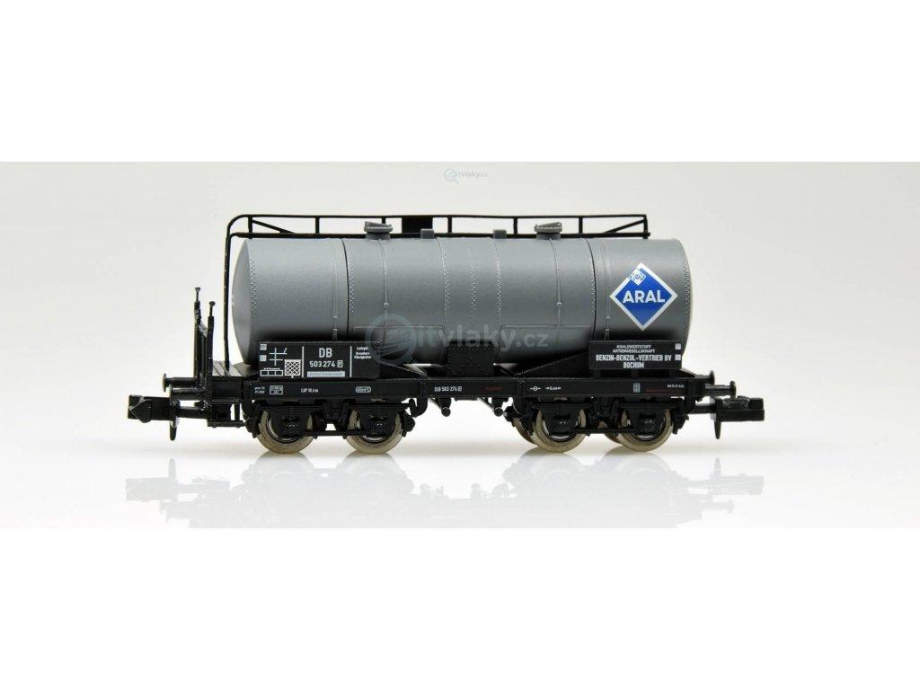 """N - cisternový vůz """"ARAL"""", 4-osý / Brawa 67068"""