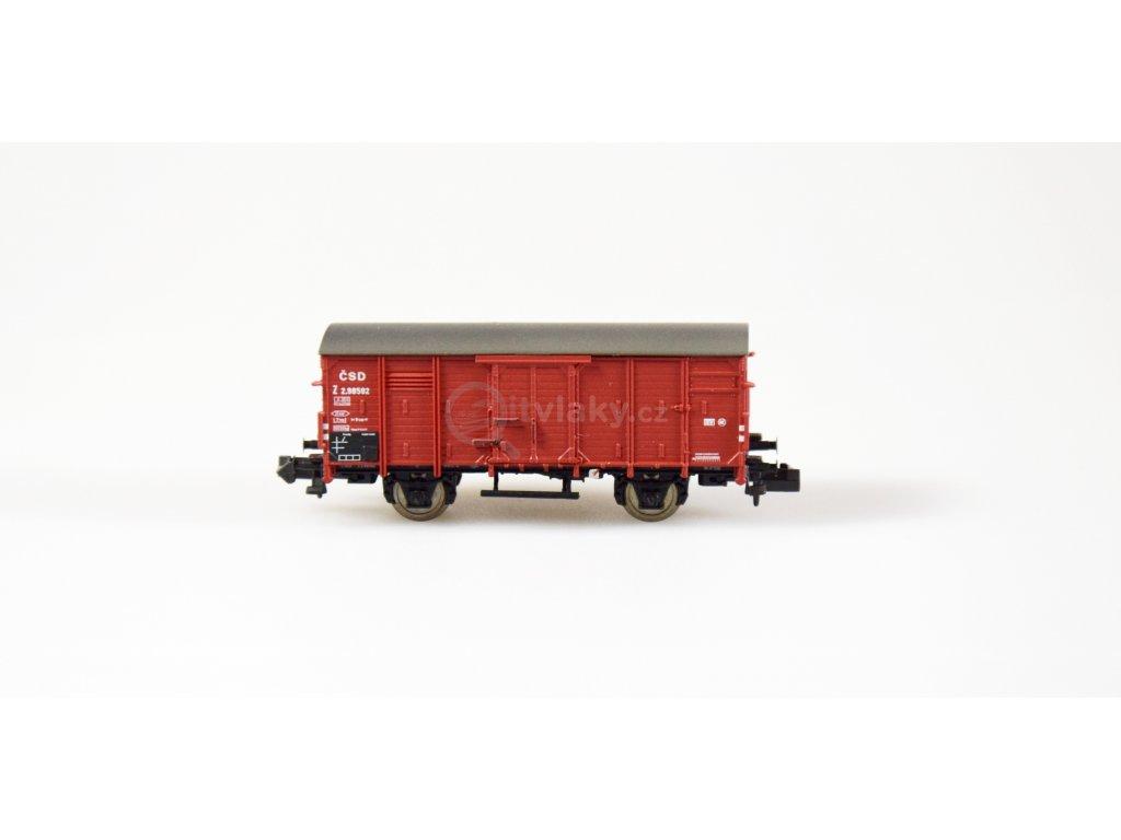 ARCHIV N - krytý nákladní vůz Z ČSD / Brawa 67439
