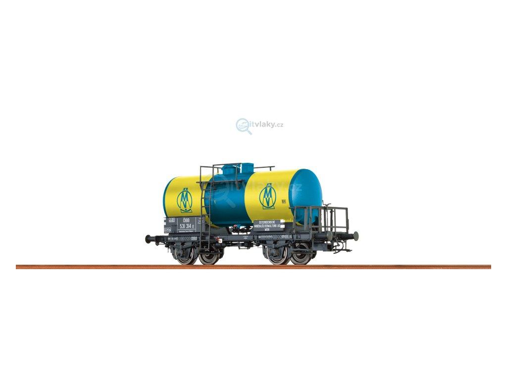 """N - Cisternový vůz""""OMV"""", ÖBB / BRAWA 67502"""