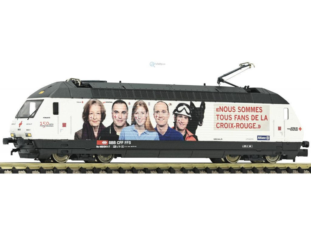 "AKCE! N - Elektrická lokomotiva řady 460 ""Rotes Kreuz"" SBB / FLEISCHMANN 731312"