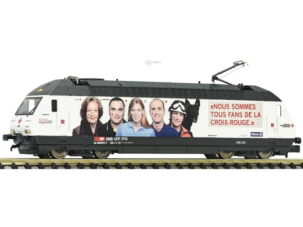 "SLEVA! N - Elektrická lokomotiva řady 460 ""Rotes Kreuz"" SBB / FLEISCHMANN 731312"
