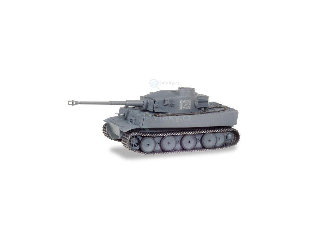 H0 - Tank Tiger Ausf. H1 Rusko Nr. 123 / Herpa 745970