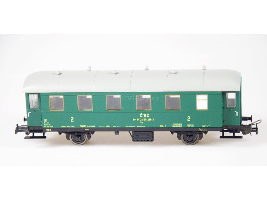 H0 - Osobní vůz 2. třídy Be ČSD (ex. BCi-33) / Tillig 74844