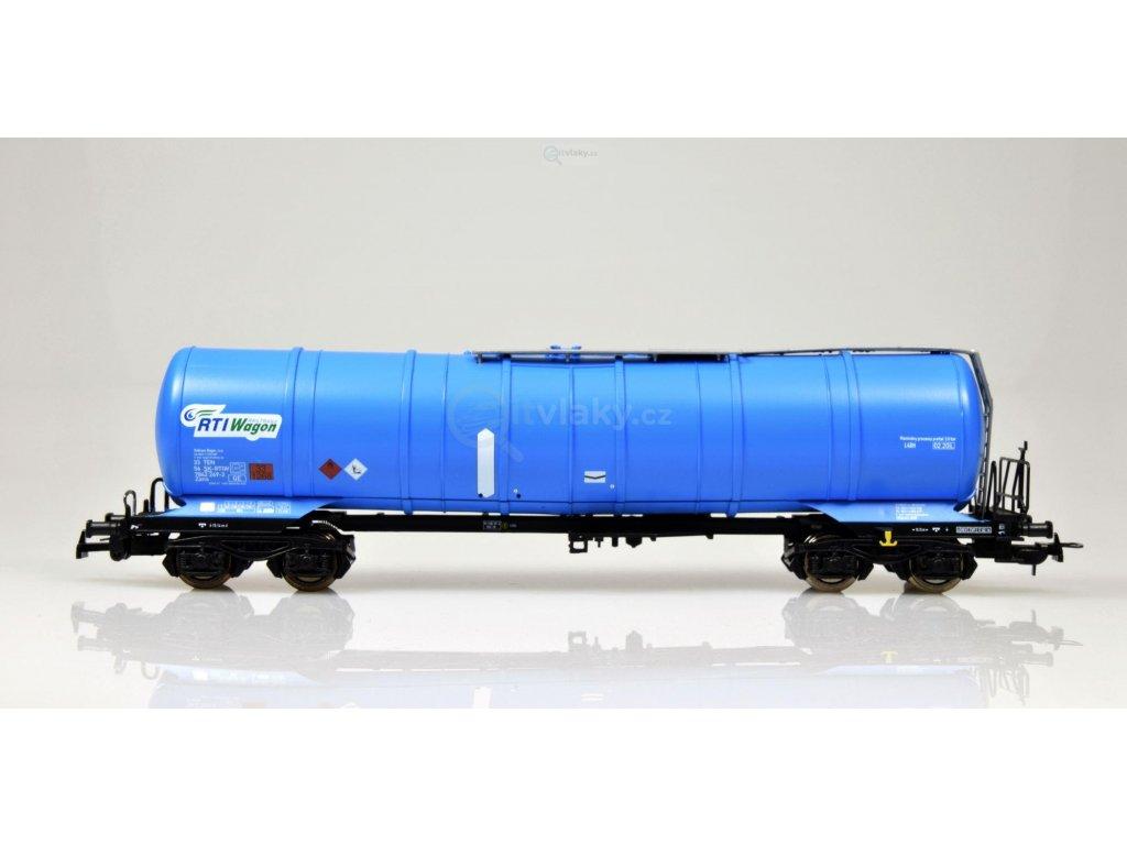 H0 - vůz se zkoseným kotlem Zans RTI, Railtrans Wagon s.r.o. / Tillig 76720
