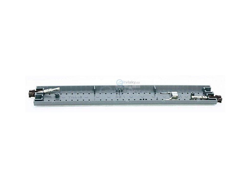 Länge 166 mm Tillig 83741 Gerades Anschlussgleis mit Entstörkondensator braun