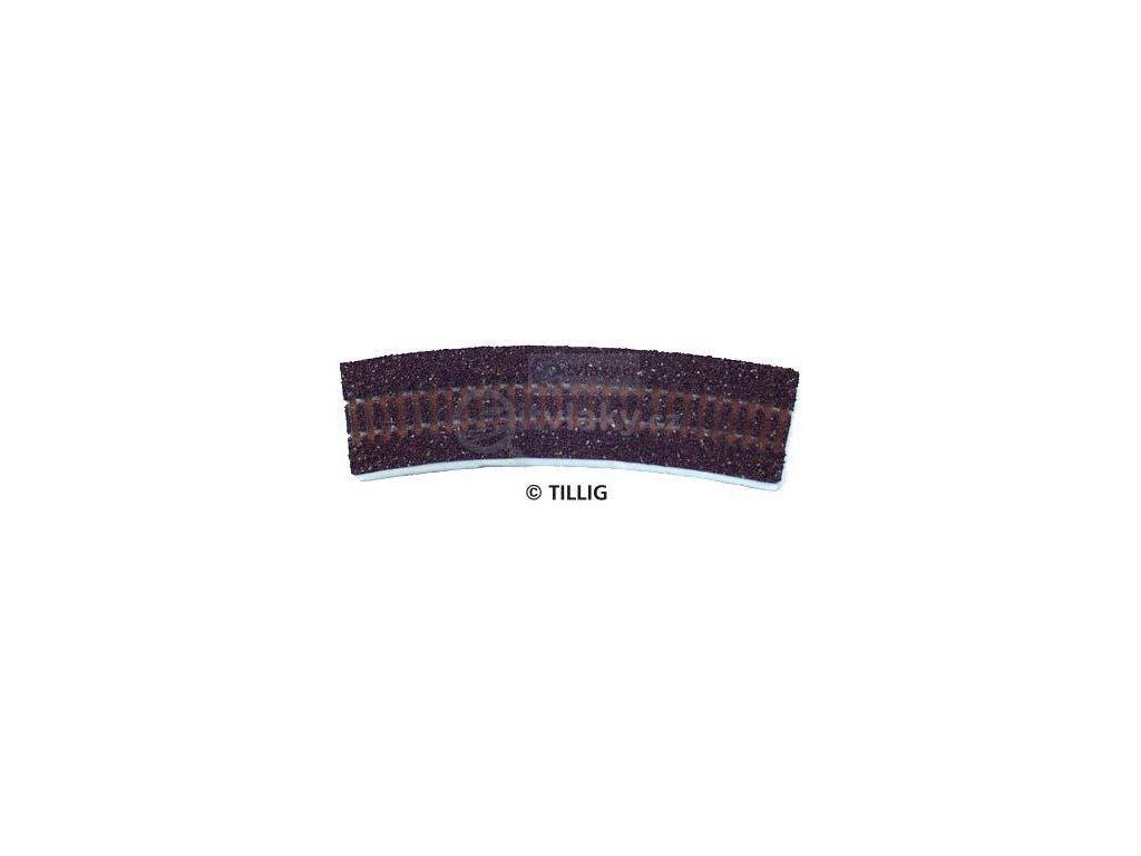 TT - Štěrkové lože pro R0 (R01 - R04) - tmavé / Tillig 86302